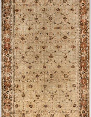 ANTIQUE INDIAN AGRA RUG  (size adjusted) BB6648