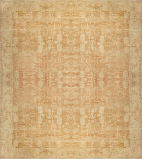 Large Antique Indian Agra Carpet BB6687