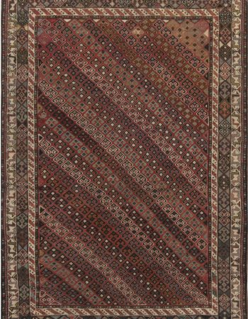 Antique Caucasian Shirvan Rug BB6870