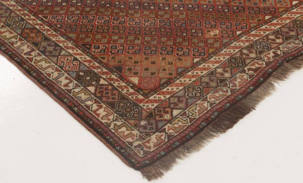 Antique Caucasiano Shirvan Rug BB6870