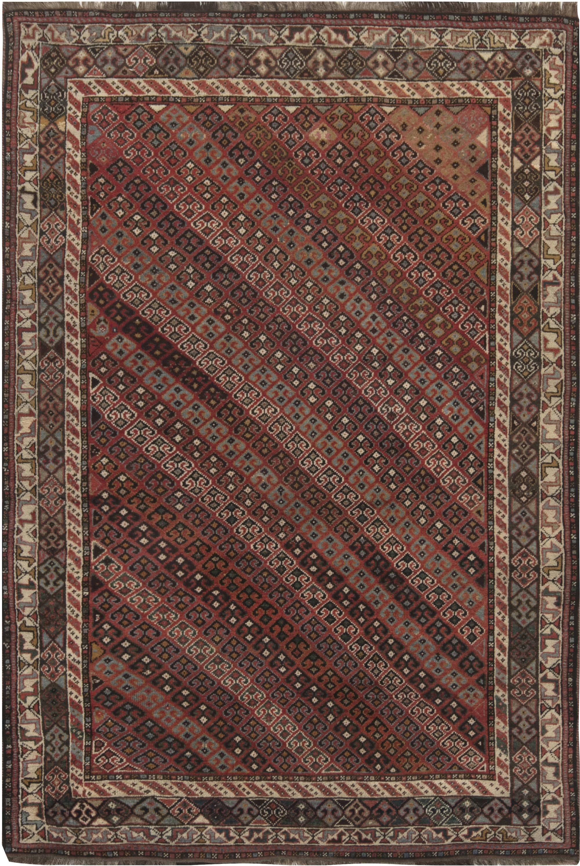 Antique Caucasian Shirvan Rug BB6870