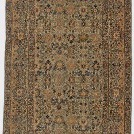 Antique Persian Kirman Handwoven Wool Rug BB6269