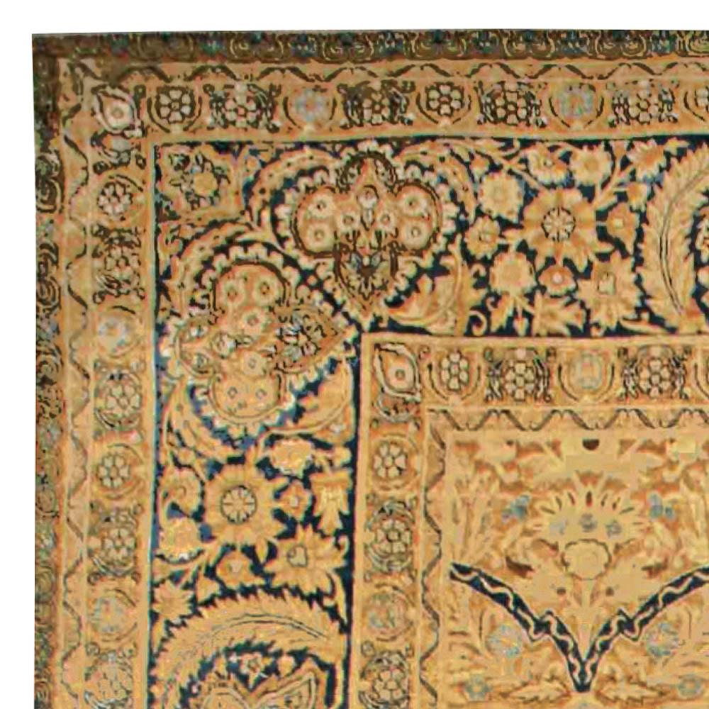 Large Antique Persian Kirman Carpet BB6732