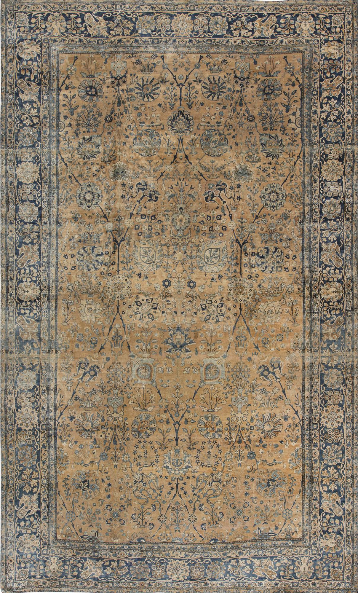 Antique Persian Kirman Carpet BB6742