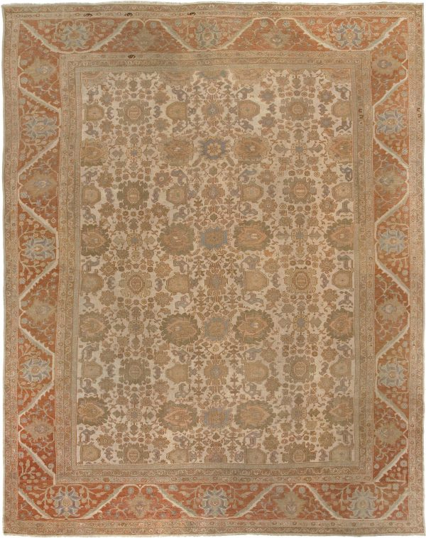 Antique Persian Sultanabad Rug BB6713