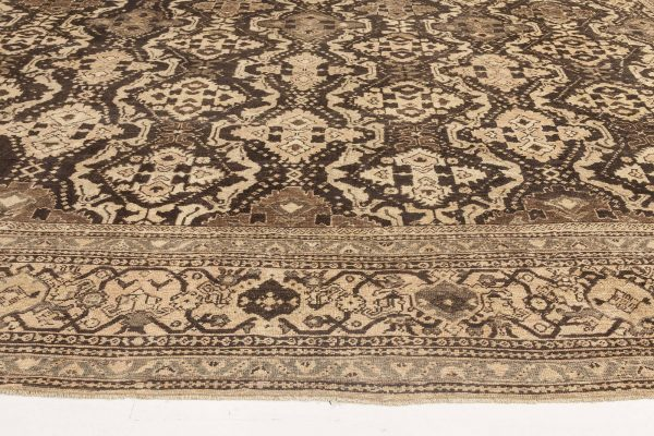 Over-sized  Antique Persian Sultanabad Rug. BB6653