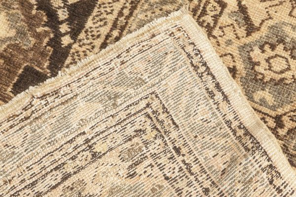 Tapete antiquado antiquado da Sultanabad Persa. BB6653