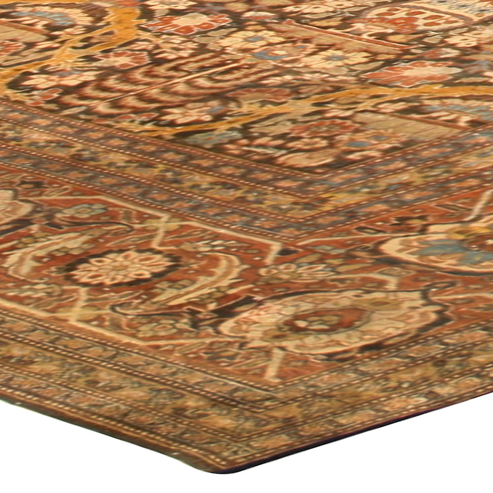 Antique Persian Tabriz Rug BB6761