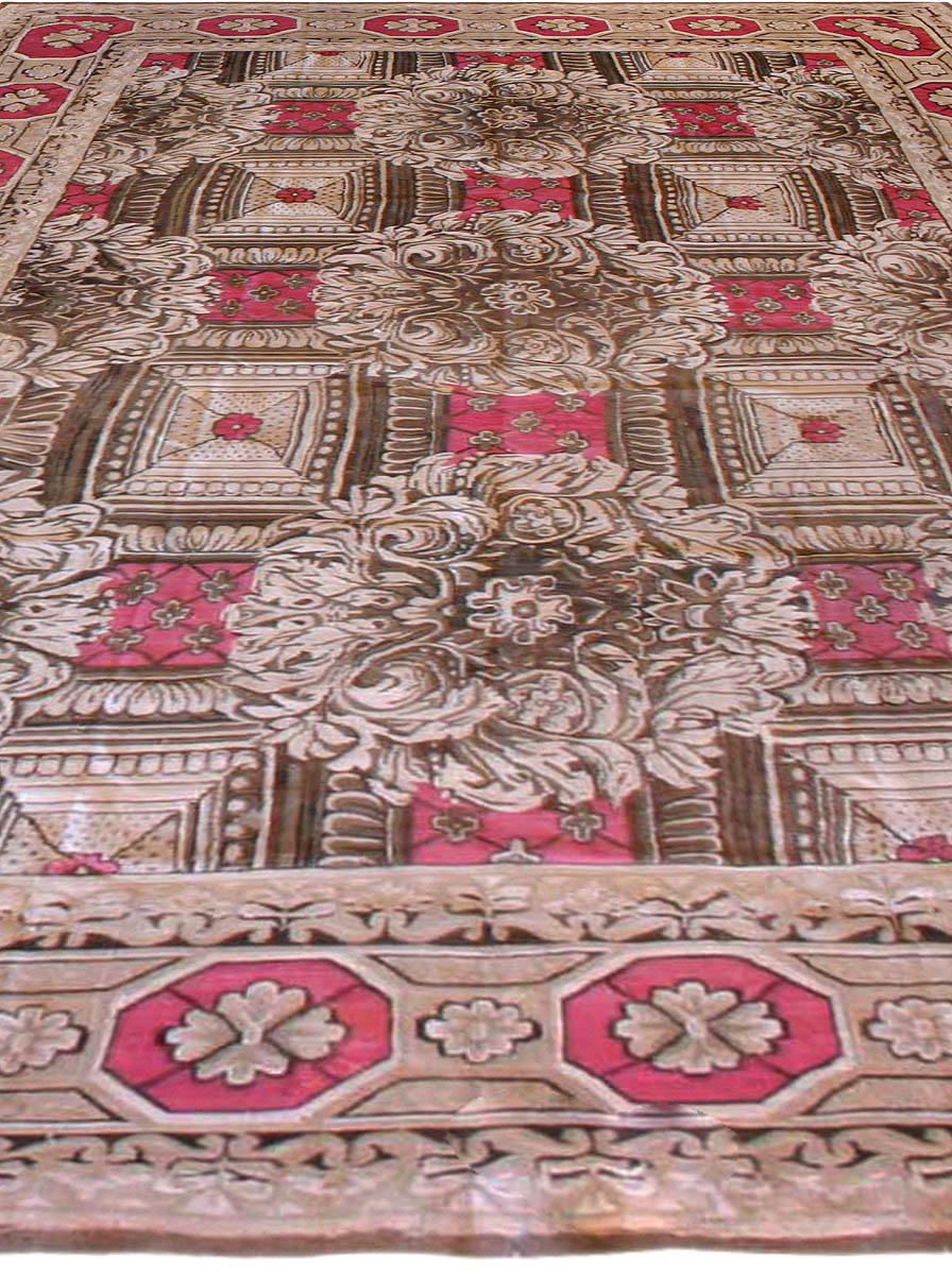 Vintage Ukrainian Carpet BB6692