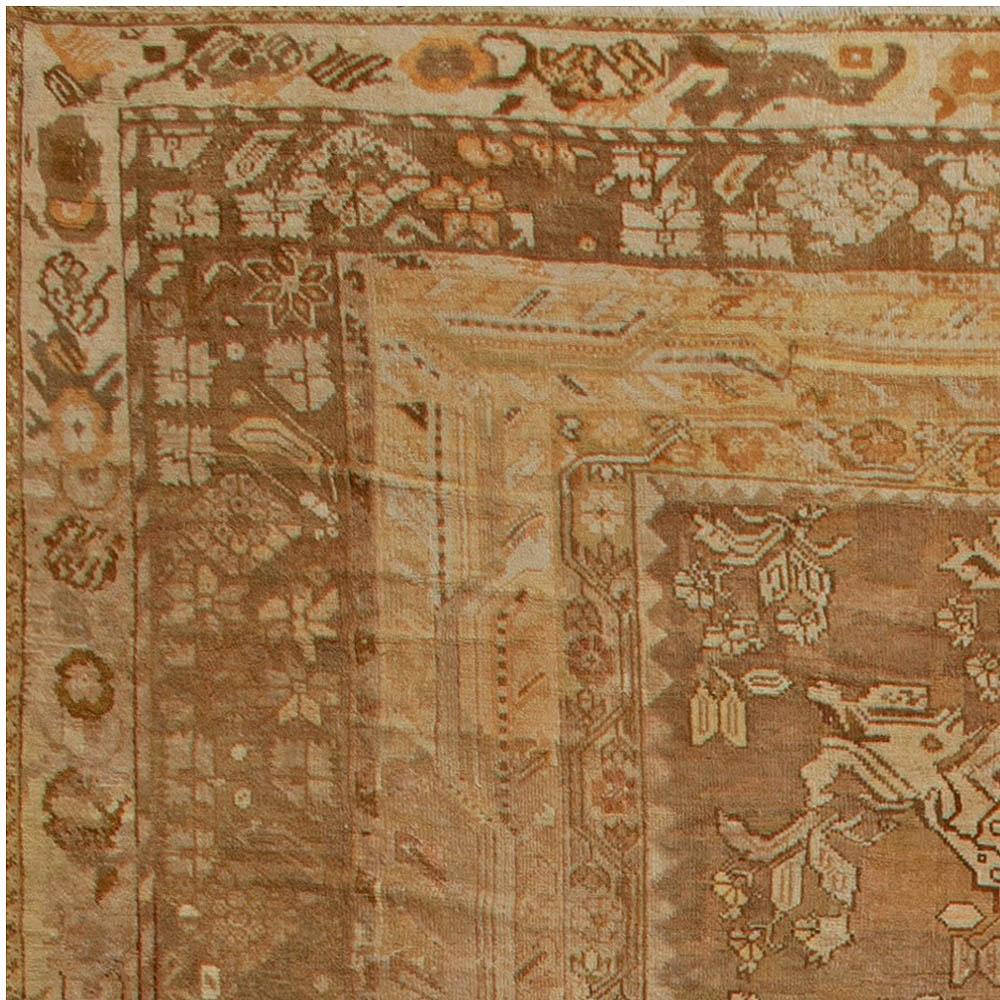 Oversized Antique Turkish Ghiordes Rug BB6810