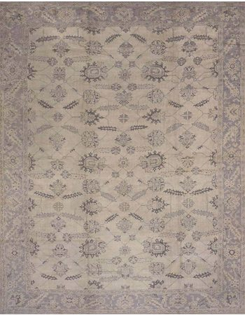 Antique Turkish Oushak Carpet BB6681
