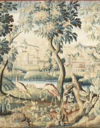 Antique Verdure Tapestry  (fragment) BB6642
