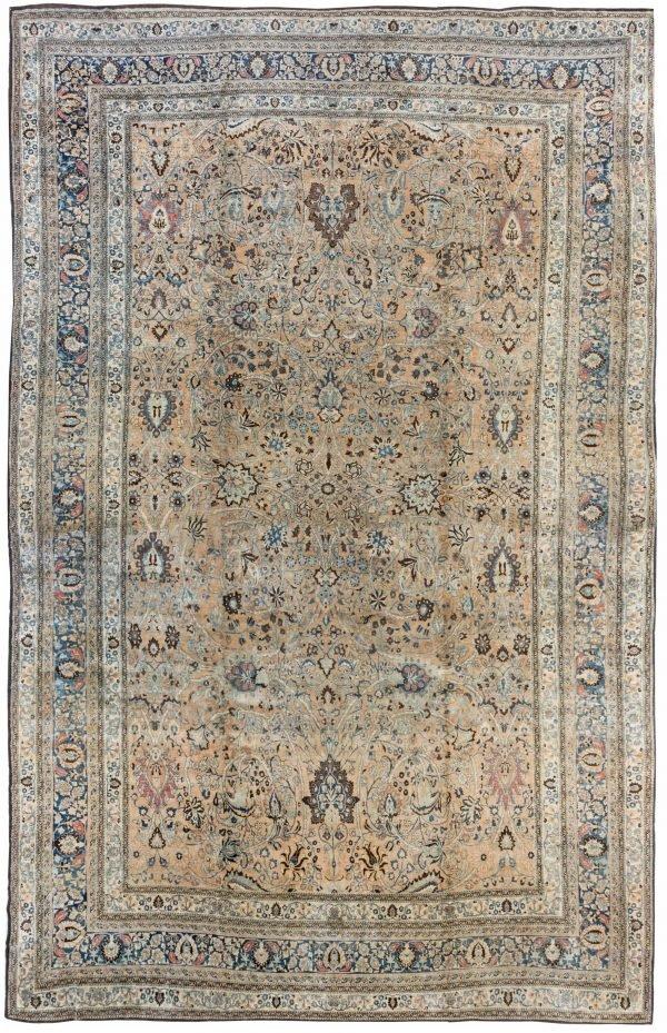 Oversized Antique Persian Khorassan Rug BB6708