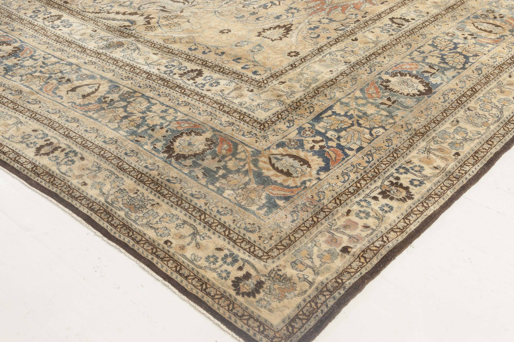 Oversized Antique Persian Khorassan Rug Bb6708 By Dlb