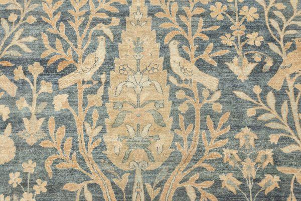 Vintage Persian Kirman Carpet BB6829