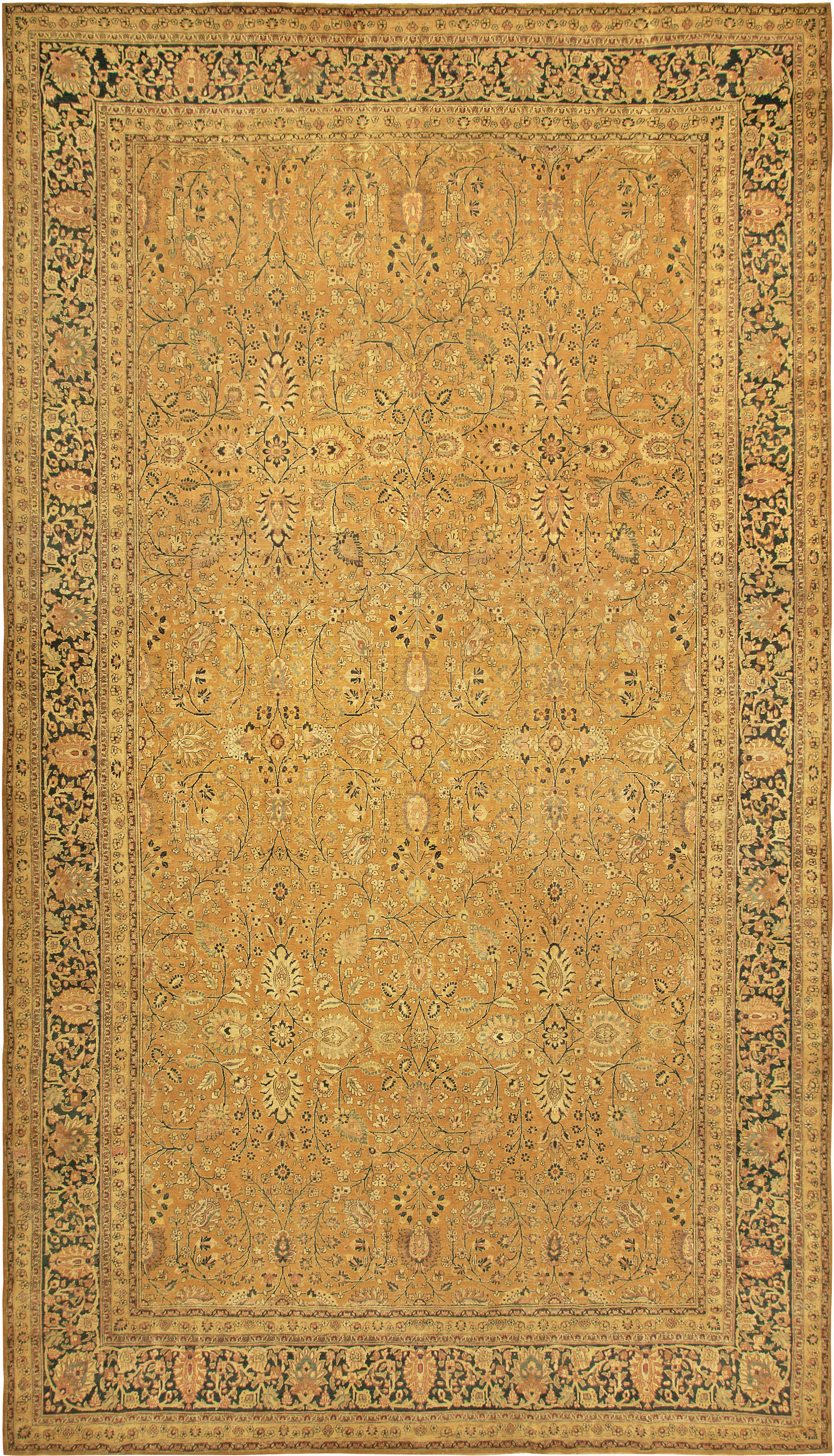Vintage Persian Tabriz Rug BB6780