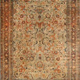 Antique Persian Tabriz Rug BB6669