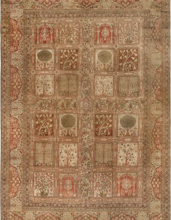 Antique Persian Tabriz BB6794