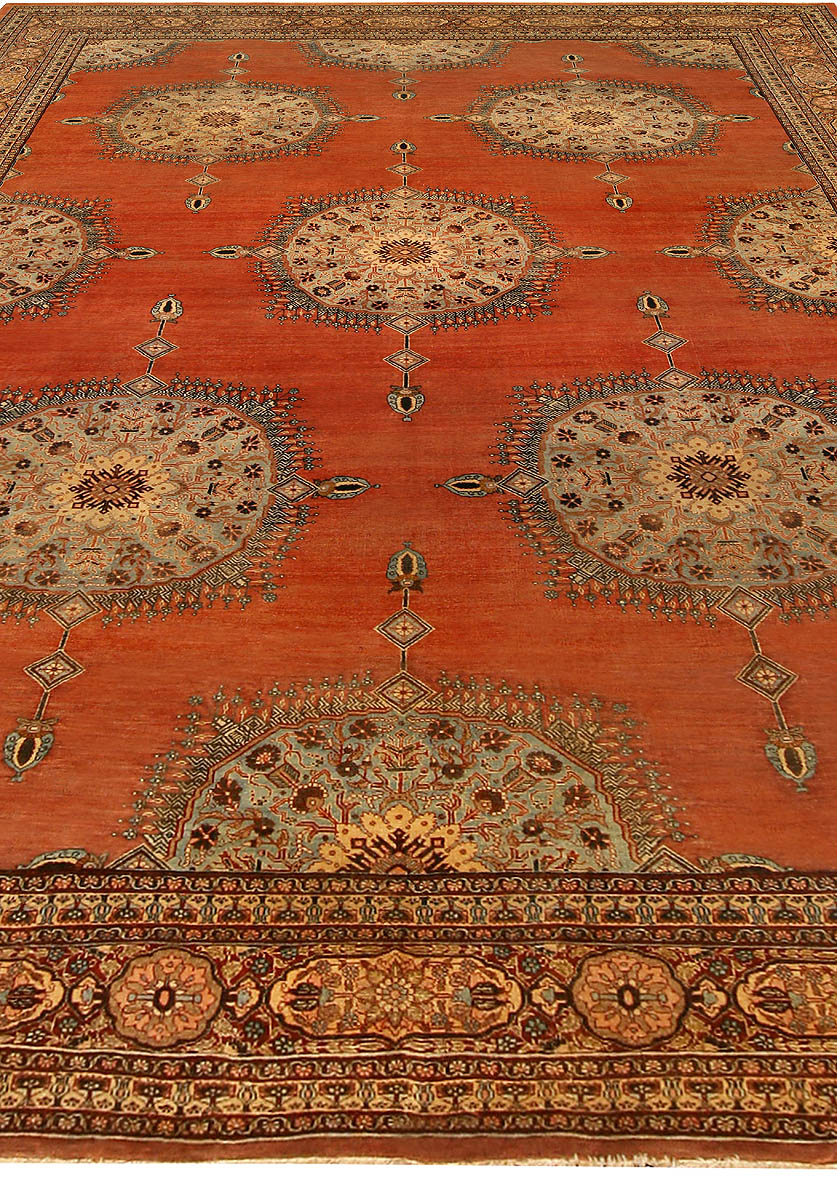Antique Persian Tabriz Rug BB6745