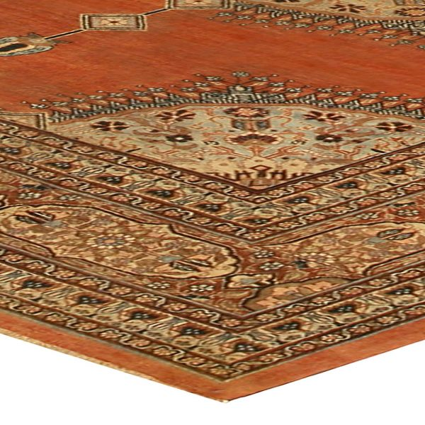 Antique Persian Tabriz Rug BB6745