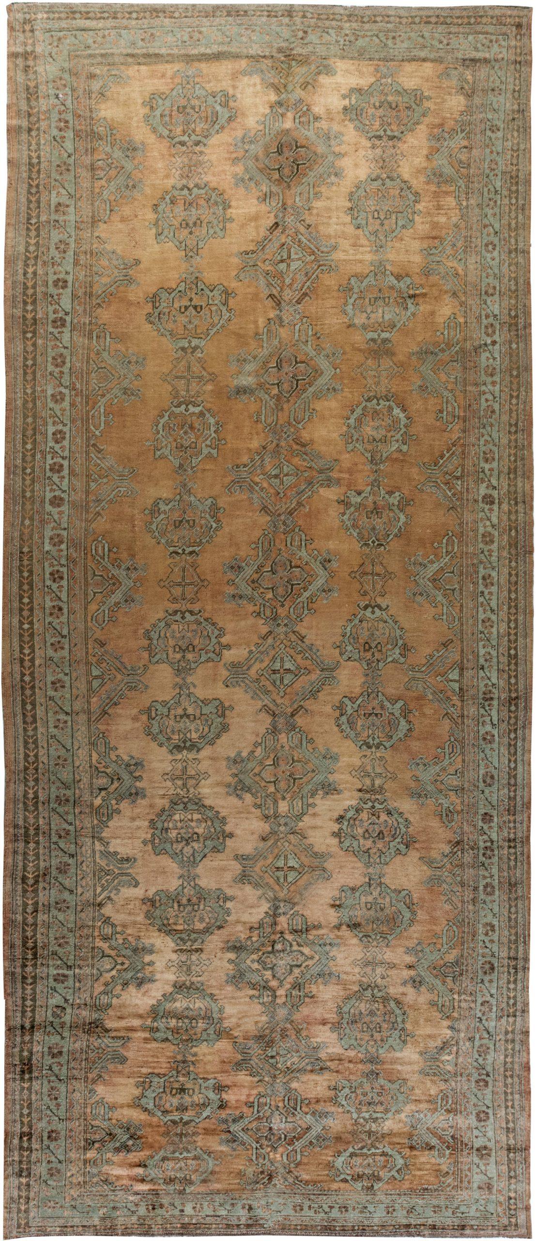 Antique Turkish Oushak BB6905