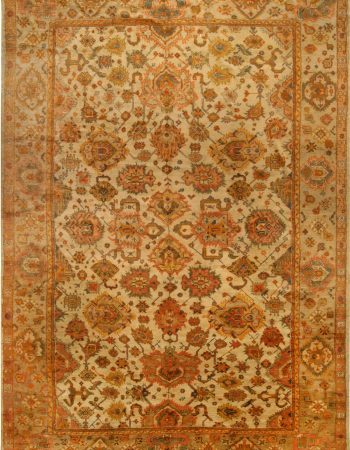 Antique Turkish Oushak Rug BB6763