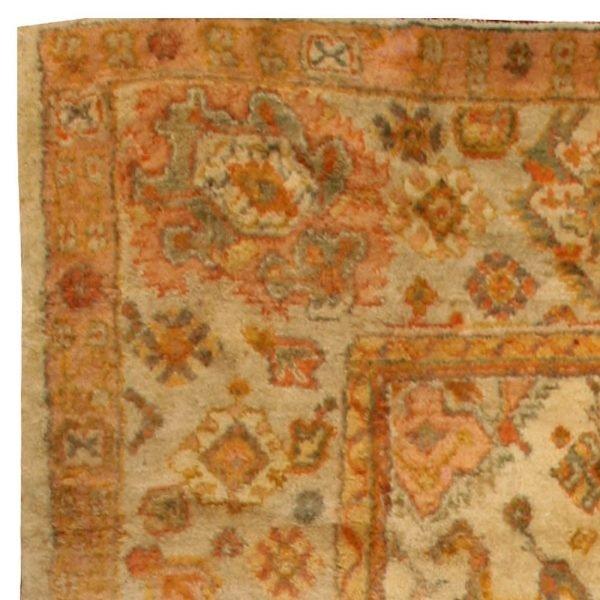 Antique Turkish Oushak Rug BB6763