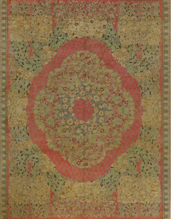 Jahrgang Französisch Deco Teppich von Paul Follot BB6824