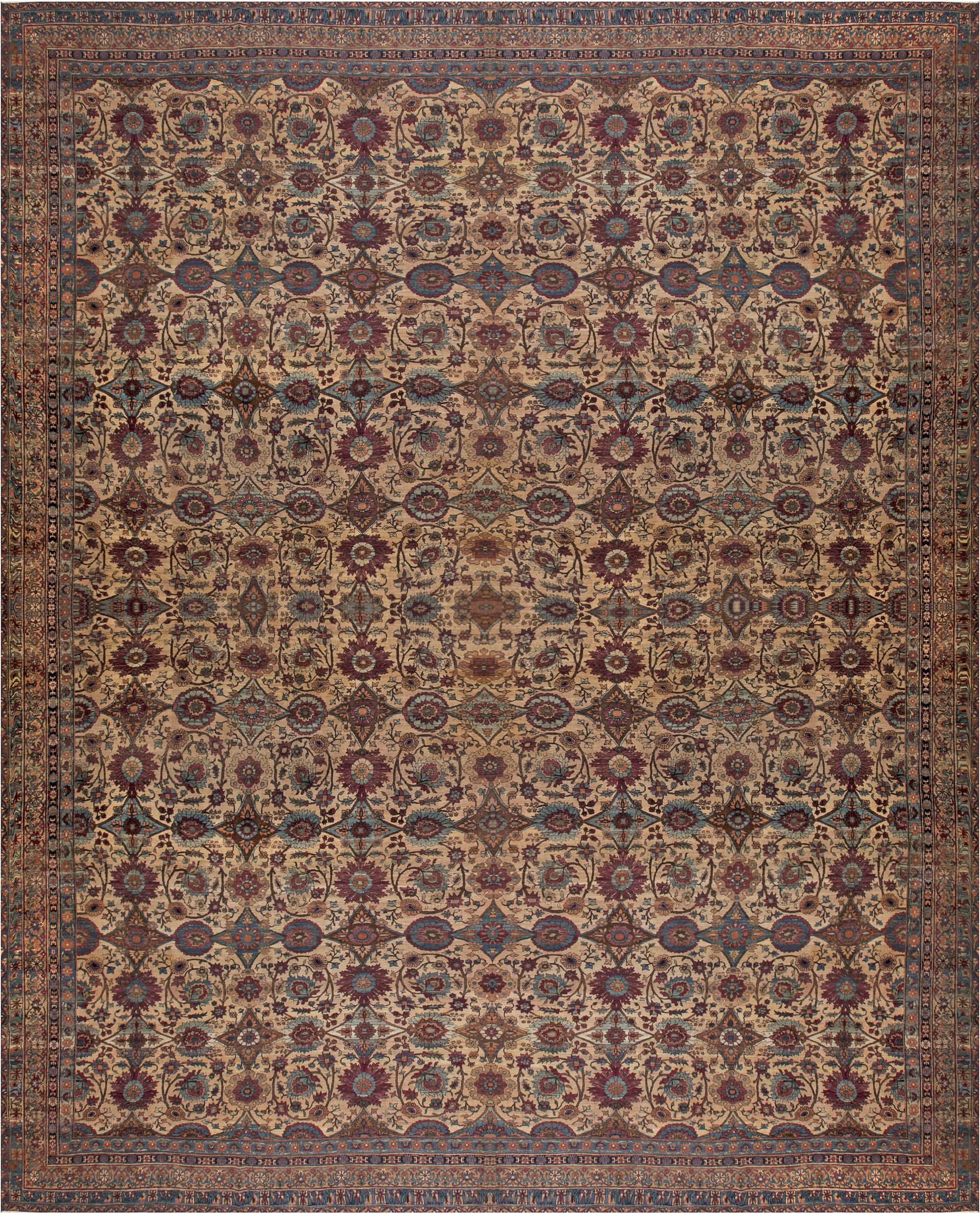 Extra Large Persian Kirman Antique Rug BB6832