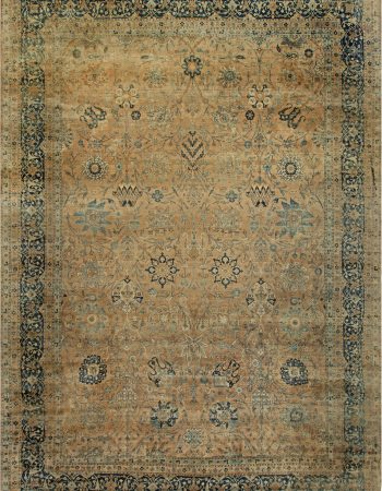 Grande Antique Persian Kirman Rug BB6833