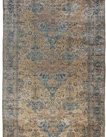 Antique Persian Kirman Rug BB6594