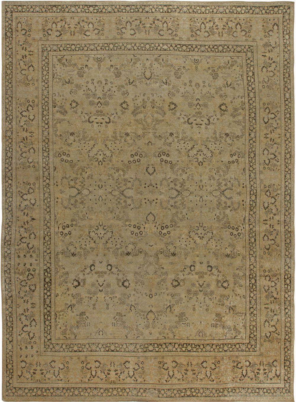 Antique Persian Meshad Rug BB6821