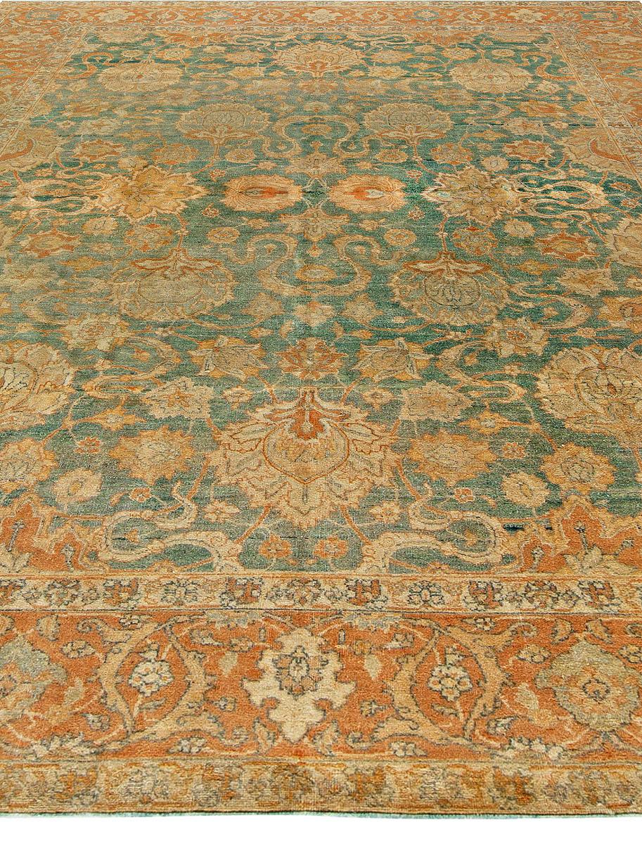Antique Persian Tabriz Rug BB6799