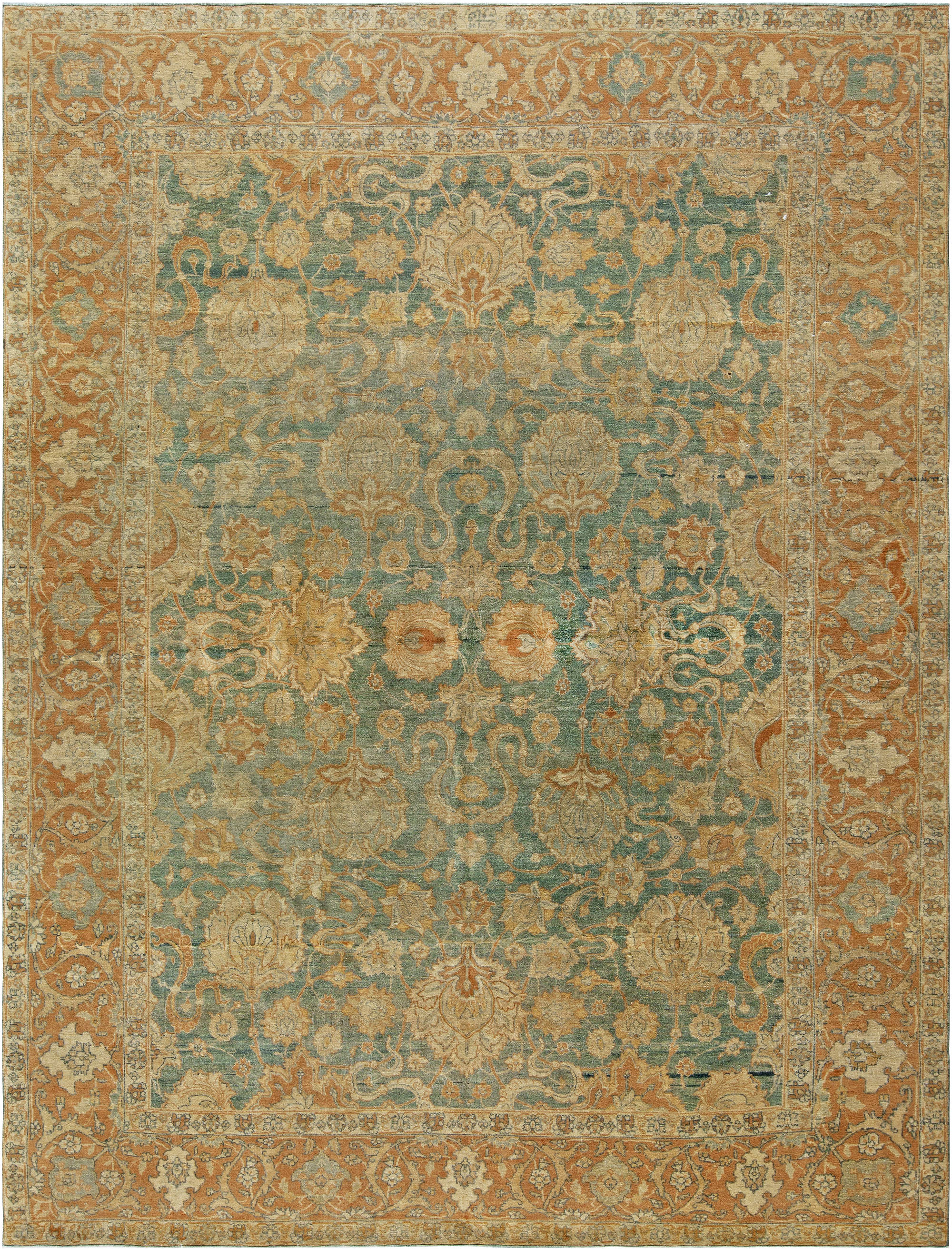 Antique Persian Tabriz Rug BB6799