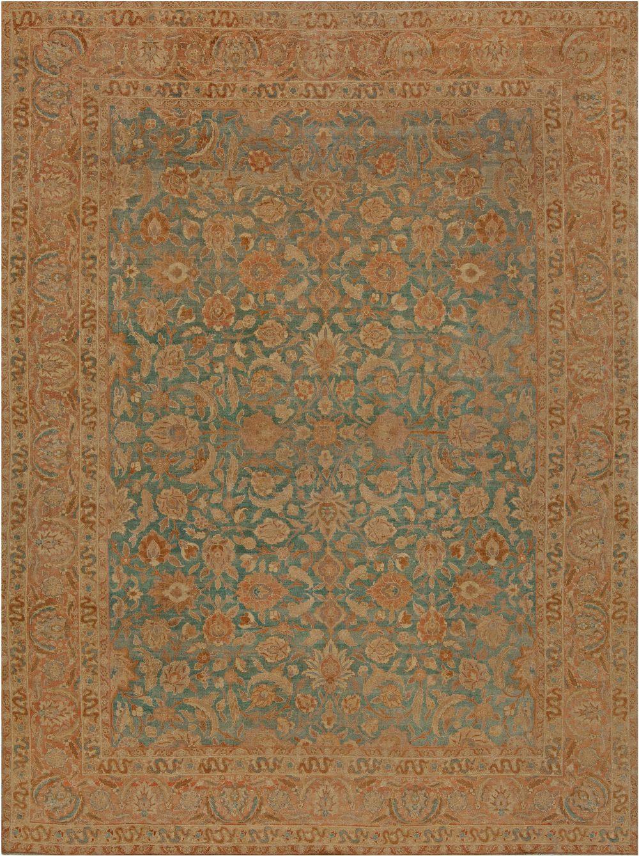 Antique Persian Tabriz Carpet BB6814