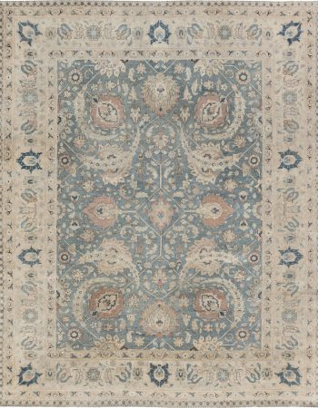 Antique Persian Tapis Tabriz BB6896