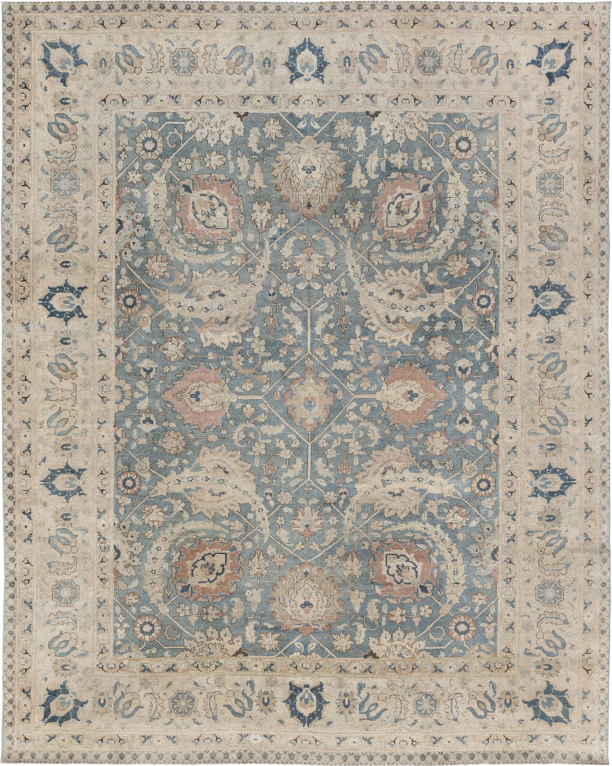 Antique Persian Tabriz Rug BB6896