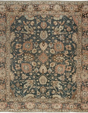 Antique persa Tabriz Tapete BB6904