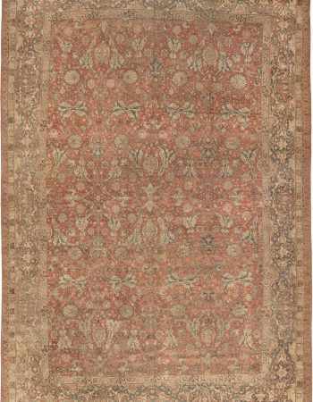 Antique persa Tabriz Tapete BB6592
