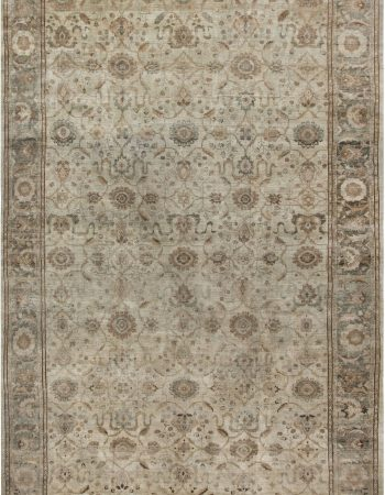 Antique Persian Tapis Tabriz BB6862