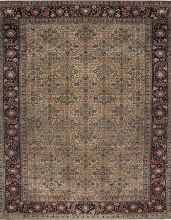 Antique Persian Tabriz Rug BB6585