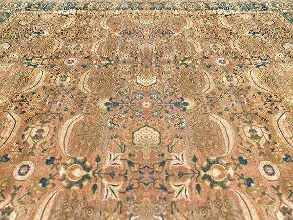 Extra Large Antique Indian Rug BB6699
