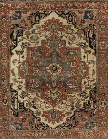 Persian Heriz Carpet BB6847