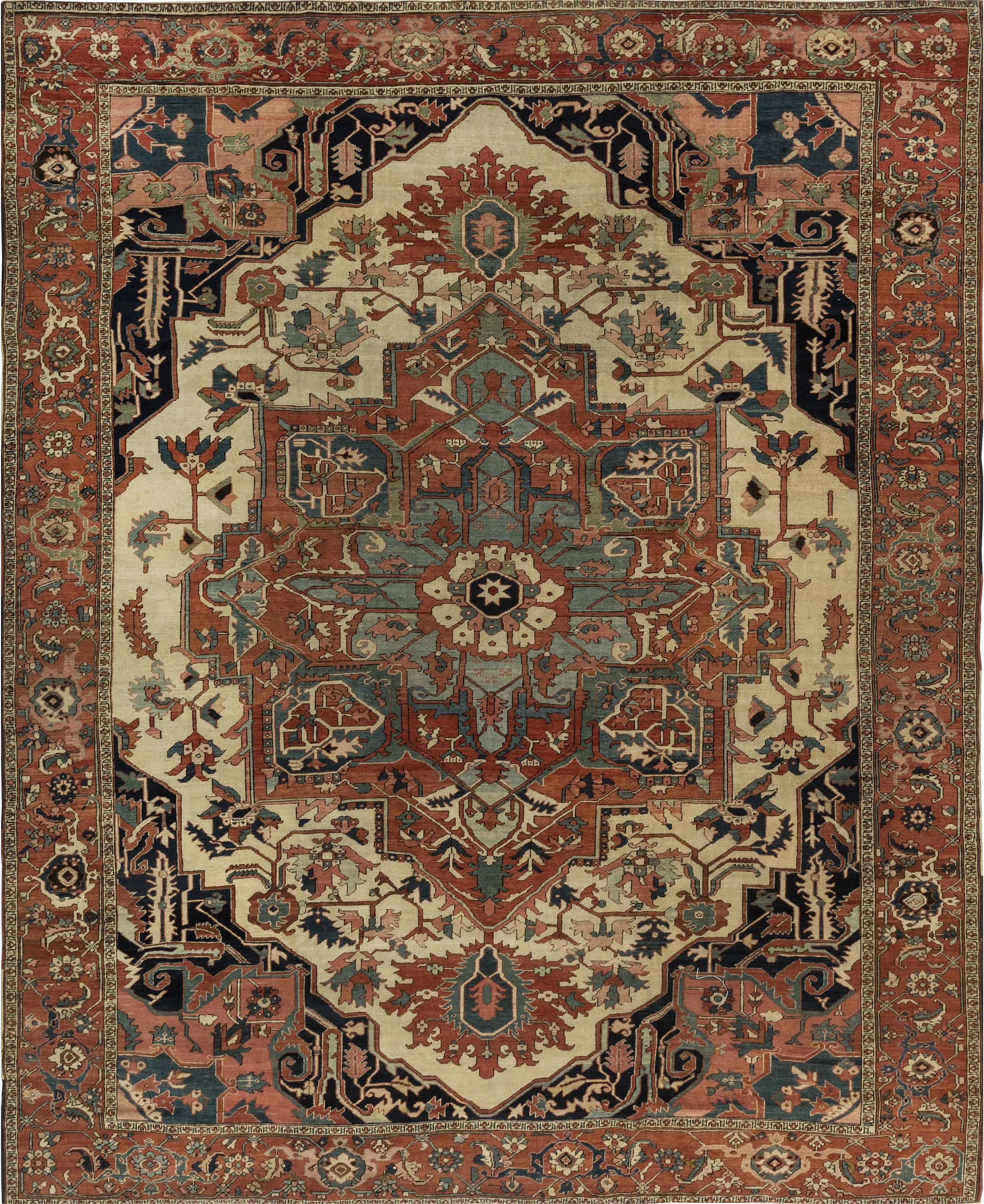 Persian Heriz Carpet BB6847