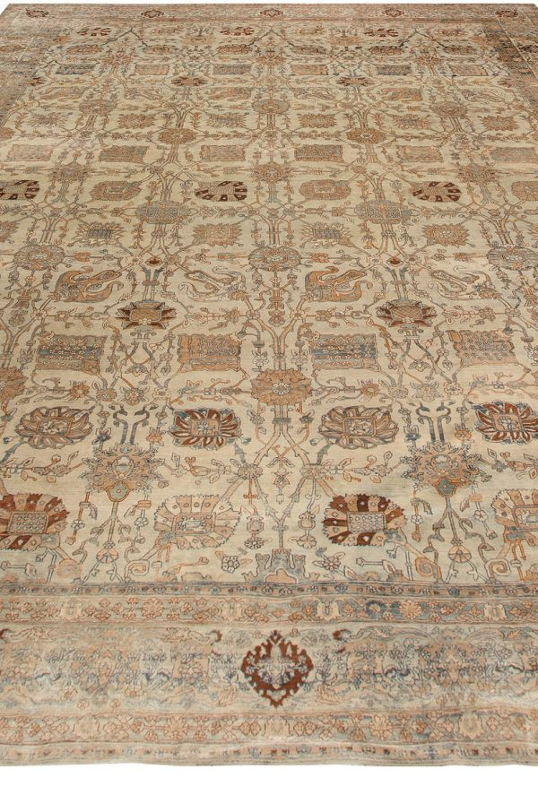 Vintage Persian Kirman Carpet BB6738