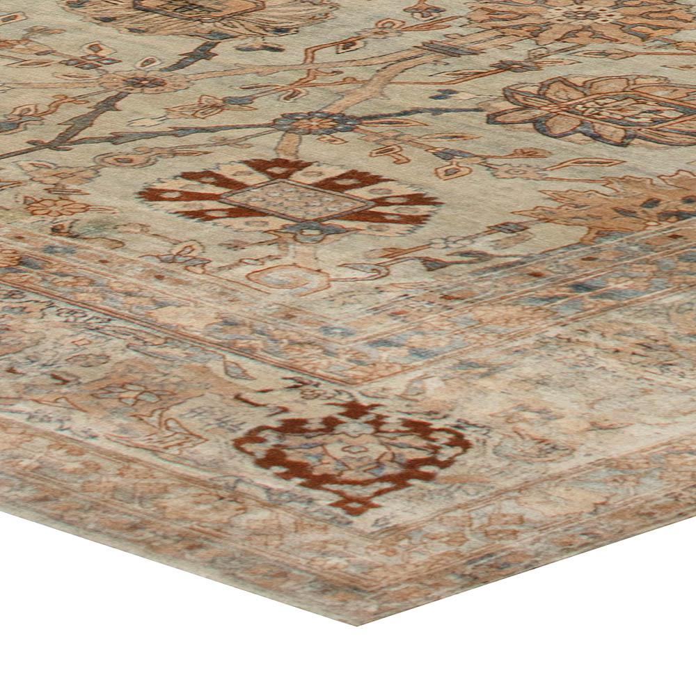 Vintage Persian Kirman Carpet BB6738