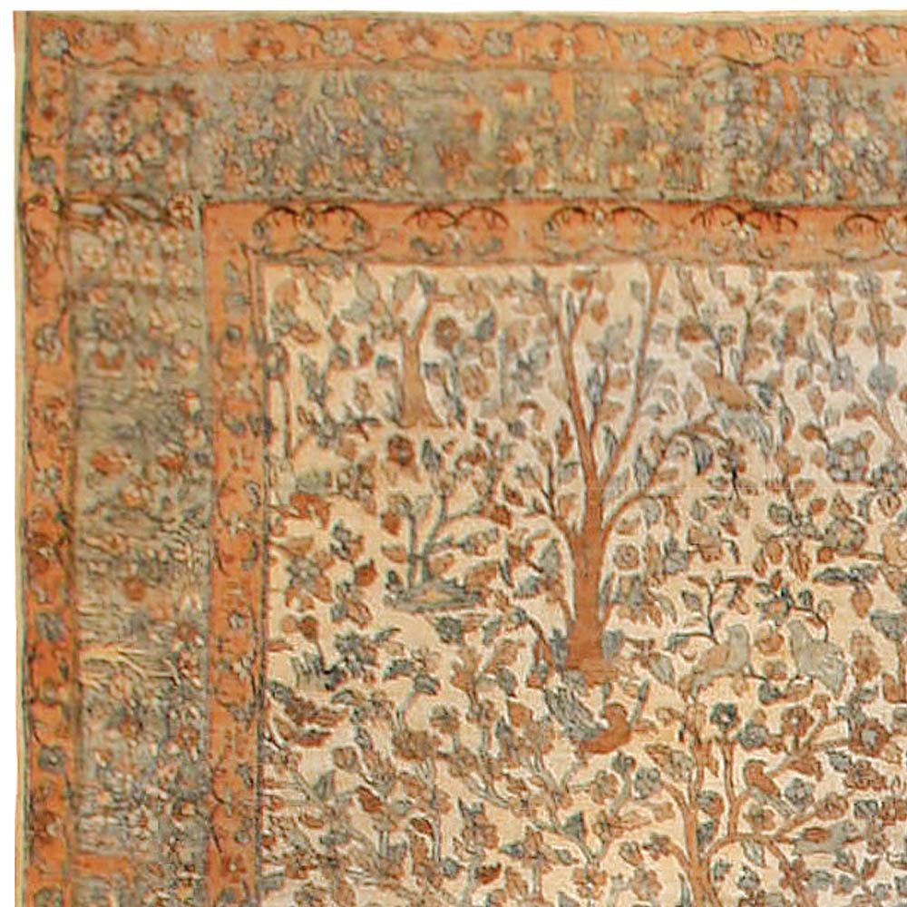 Antique Persian Kirman Rug BB6731