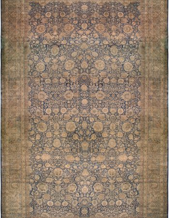 Oversized antigo persa Kirman Rug BB6698