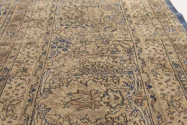 Oversized Antique Persian Kirman Rug BB6698