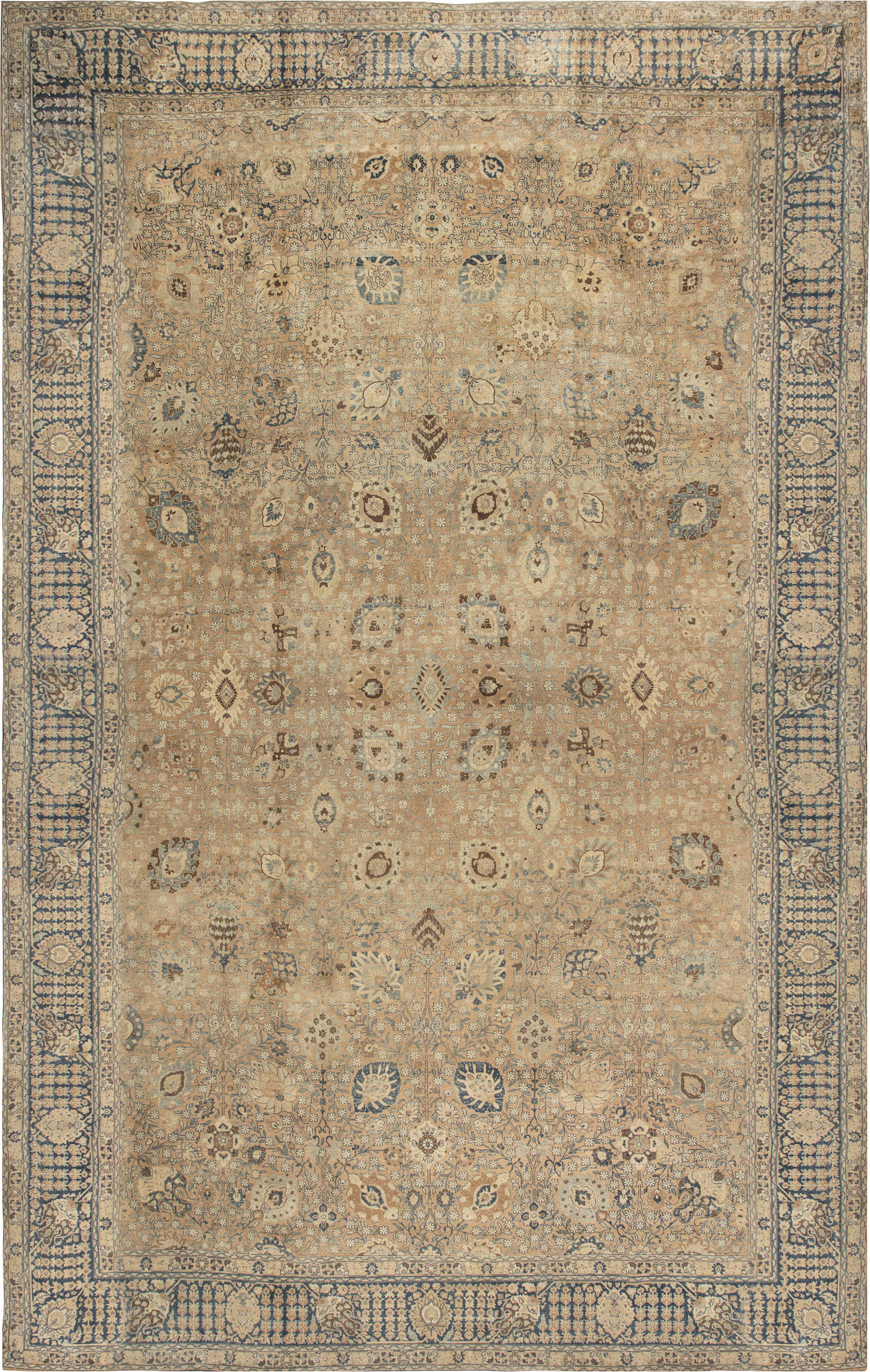 Antique Persian Tabriz Carpet BB6735